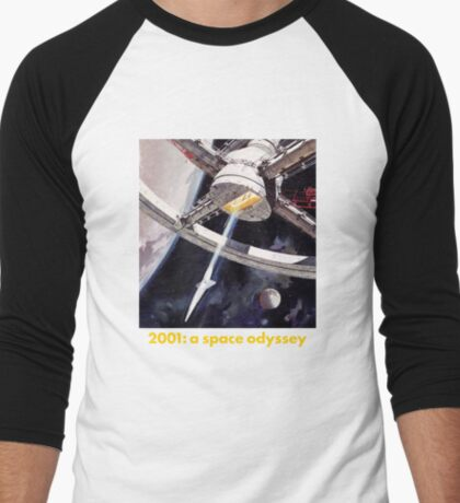 2001 a space odyssey Men's Baseball ¾ T-Shirt
