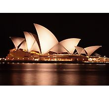 A night at the Opera.. House Photographic Print