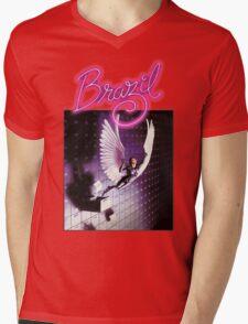 brazil film Mens V-Neck T-Shirt