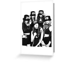 4Minute - Crazy Greeting Card