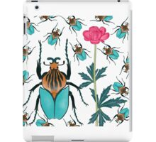 bugs and flower iPad Case/Skin