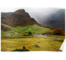 Driving in the Pyrenees Poster
