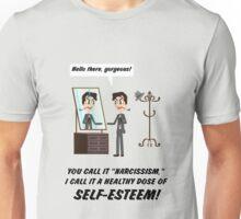 """You call it """"narcissism"""" I call it """"self-esteem"""" Unisex T-Shirt"""