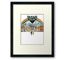 Logan's run Framed Print