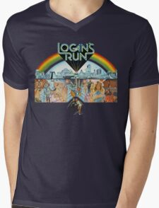 Logan's run Mens V-Neck T-Shirt