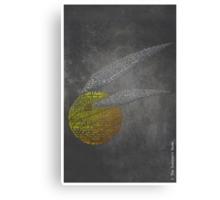 Sorcerer's Stone Word Art- Harry Potter, Golden Snitch Canvas Print