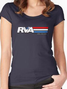 RVA - A Real Local Hero! USA Women's Fitted Scoop T-Shirt