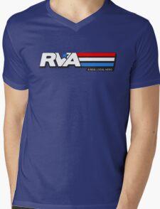 RVA - A Real Local Hero! USA Mens V-Neck T-Shirt