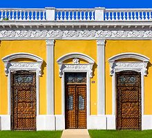 Ornate Doors Of Colorful Mérida Mexico by Mark Tisdale