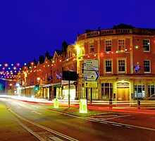 Christmas in Lyndhurst by Steve Humby