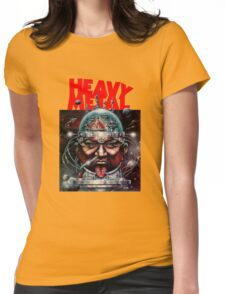 Heavy Metal Womens Fitted T-Shirt