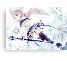 H-Scene: Ice Princess Canvas Print