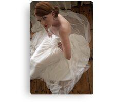 porcelain bride Canvas Print