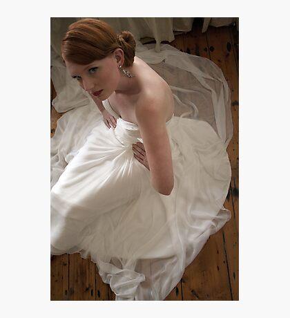 porcelain bride Photographic Print