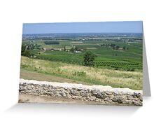 Monbazilac Vineyard Greeting Card