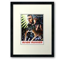 Blade Runner Movie Shirt! Framed Print