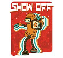 Intergalactic Show-off Photographic Print