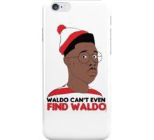 Waldo Can't Even Find waldo iPhone Case/Skin