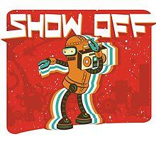 Intergalactic Show-off by uwanlibner