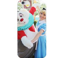 Alice and White Rabbit iPhone Case/Skin