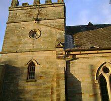 Saint James Church by reflector