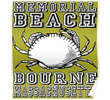 MEMORIAL BEACH Poster