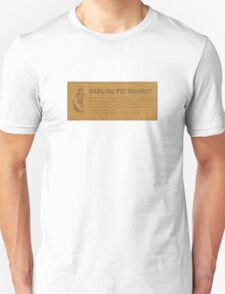Darling Pet Monkey T-Shirt