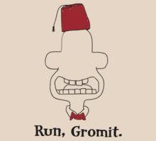 Run, Gromit by ceightiebea