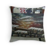 The Beauty Beyond (Re-worked) Throw Pillow
