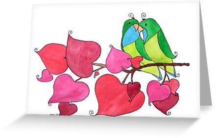 Love Birds by tiffjamaica