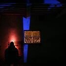 3.3.2015: Light Painting from Cowshed by Petri Volanen