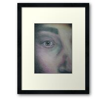 Unveiled Framed Print