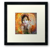 Princess Of Esteem Framed Print
