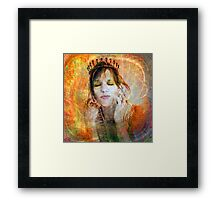 Princess Of Esteem Framed Print
