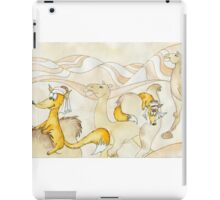 fox travelers. Sahara Desert iPad Case/Skin