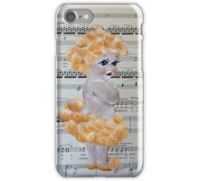 Australian Wattle Baby with Music notes iPhone Case/Skin