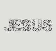 Jesus (black crosses) by StudioBlack