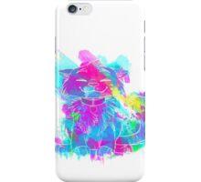 Paintsplashed Happy Cat iPhone Case/Skin