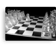 Chess 3045: Your turn... Canvas Print