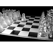 Chess 3045: Your turn... Photographic Print