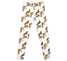 I'm All Ears - Cute Calico Cat Portrait Leggings