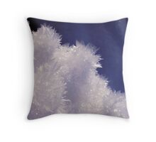 Ice Crystals I Throw Pillow