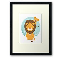 I look like my Dad! Framed Print