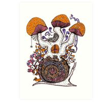 The Snail House Art Print