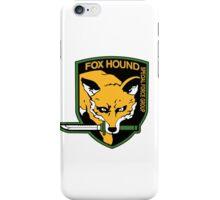 FOX HOUND Art iPhone Case/Skin