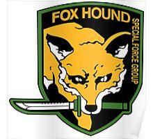 FOX HOUND Art Poster