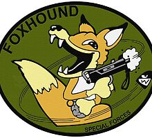 FOX HOUND Art by WonderAKA