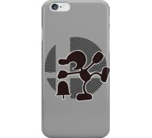 Mr. Game & Watch (Brawl) - Sunset Shores iPhone Case/Skin