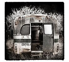 """ The Old Bus ""  #03 Photographic Print"