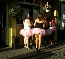 Temple Bar Hen Party by Alice McMahon